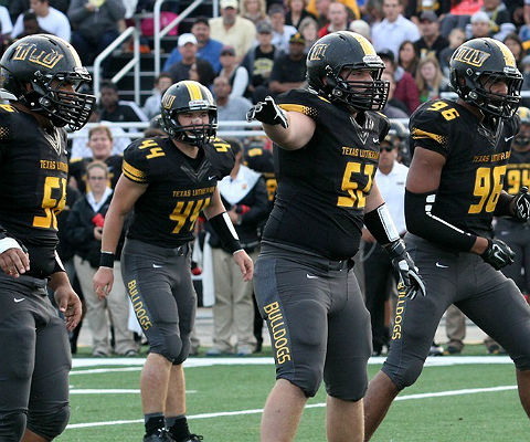Will the Texas Lutheran defense stand up to Mary Hardin-Baylor? (TLU athletics photo)