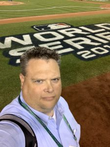 Dave at World Series